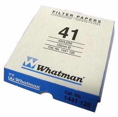 Grade 41 Fast Ashless Filter Paper, 125 mm