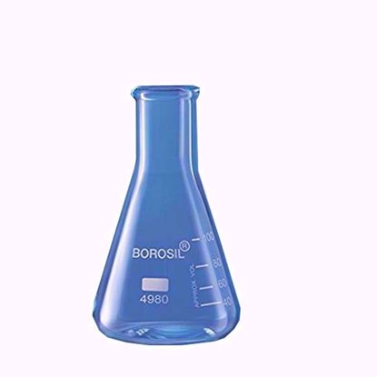 Erlenmeyer Graduated Conical Flask with Narrow Mouth - 150 ml