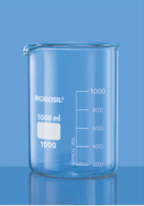 Low Form With Spout Beaker - 400 ml