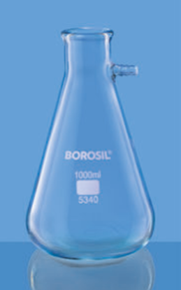 Filtering Flask Bolt Neck With Tubulation - 250 ml