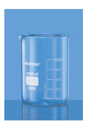 Low Form With Spout Beaker - 25 ml