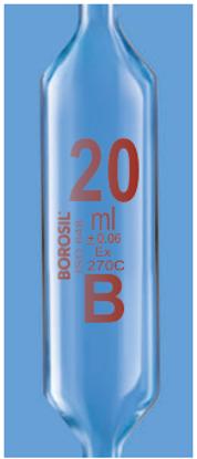 Transfer Volumetric Class B Pipette - 25 ml