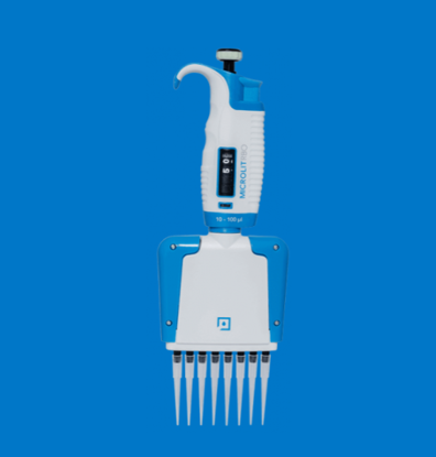Micropipette Multi Channel Eight Channel, Variable Volume, Fully Autoclavable